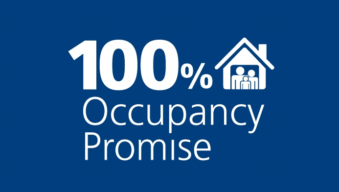 100% Occupancy Promise for your investment property