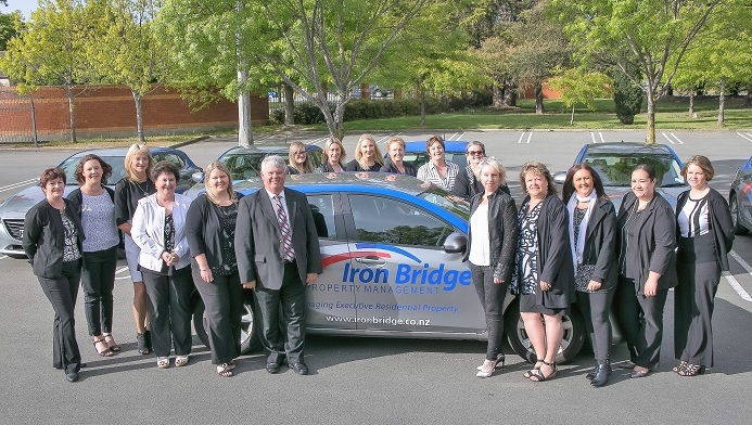 Iron Bridge named finalist at prestigious property management awards