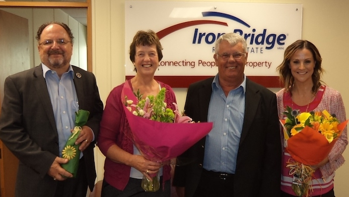 Iron Bridge celebrates 10 years connecting people with property